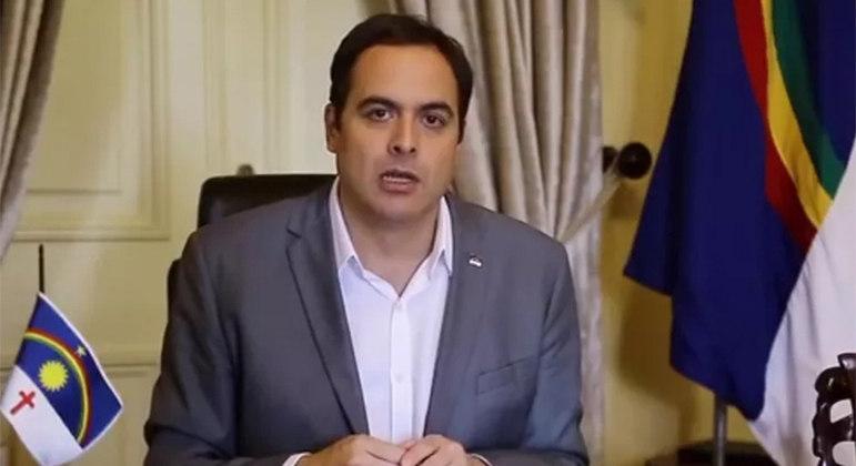 O governador de Pernambuco, Paulo Câmara