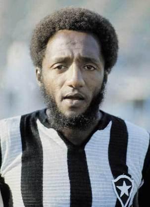Paulo Cezar Caju, ídolo do Botafogo, foi campeão do mundo em 1970 e também atuou nos outros três grandes do estado.