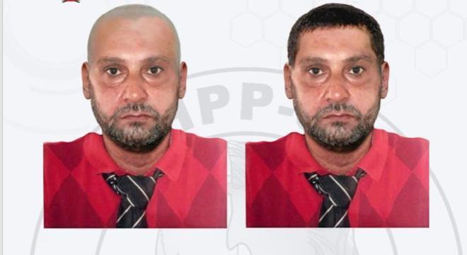 Paulo Cupertino Matias que está foragido da polícia há um ano