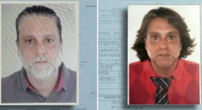 Paulo Cupertino mudou aparência física para escapar da polícia