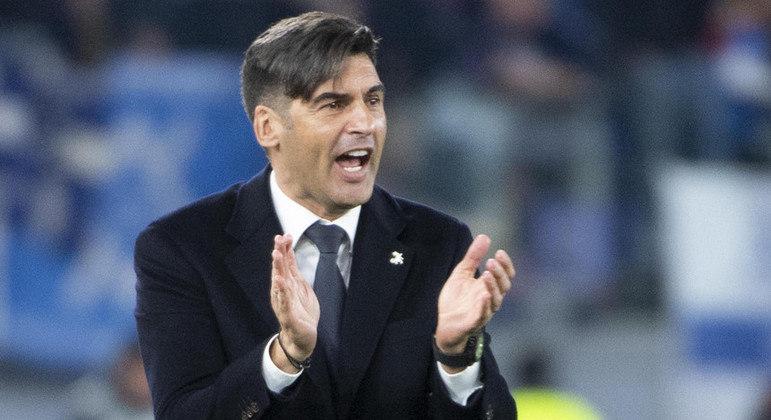 Paulo Fonseca, o treinador da Roma
