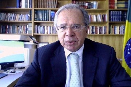 Guedes participou de evento online nesta quarta
