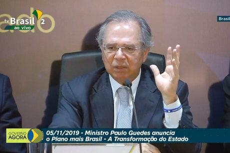 Paulo Guedes apresenta plano econômico