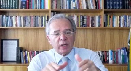 Guedes diz que meta é reduzir gastos públicos