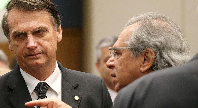Bolsonaro e Paulo Guedes, o homem que vai comandar a economia em seu governo