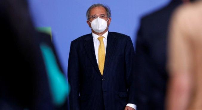 O ministro da Economia, Paulo Guedes, que comemorou aprovação na Câmara