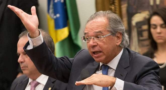 Paulo Guedes, durante audiência na Comissão de Constituição e Justiça