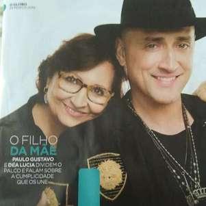 Mãe de Paulo Gustavo postou lembrança do filho