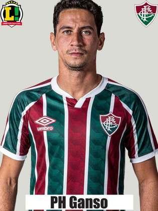 PAULO HENRIQUE GANSO - 5,5 - Cresceu de produção no segundo tempo e chegou a engatar investidas para Gabriel Teixeira e Luiz Henrique. Contudo, aos poucos voltou a cair de rendimento.