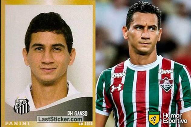 Paulo Henrique Ganso jogou pelo Santos em 2010. Inicia o Brasileirão 2021 com 31 anos e jogando pelo Fluminense.