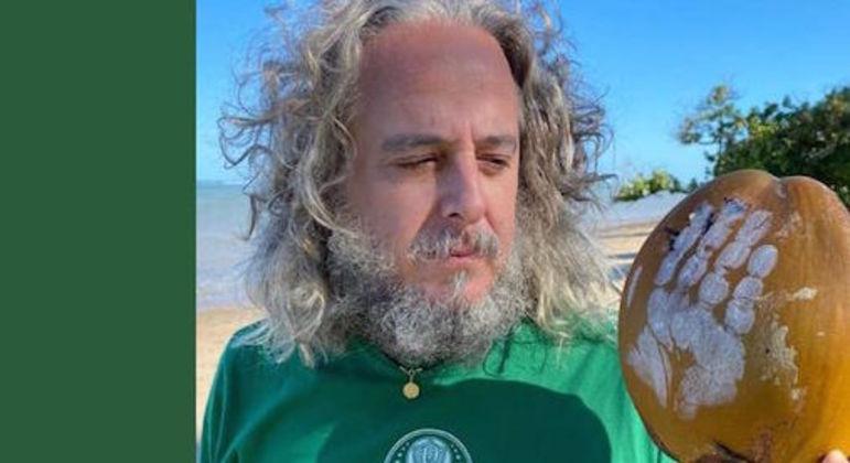 """Paulo Nobre escolheu a imagem do filme """"Náufrago"""" no Instagram. Ótima simbologia"""