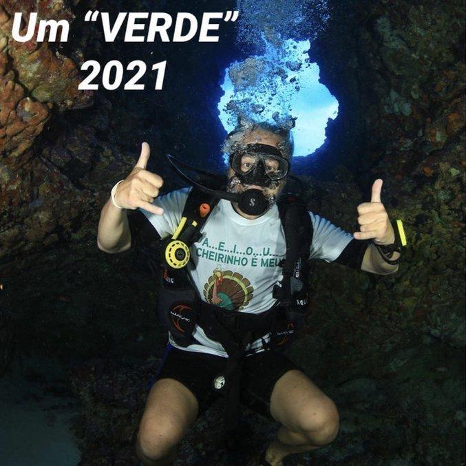 No fundo do mar. A mensagem de Paulo Nobre para 2021