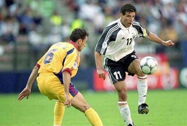 Paulo Rink (Alemanha) - Em 2000, foi a vez de Paulo Rink defender a Alemanha na Euro. O ex-atacante ganhou projeção com a camisa do Athletico e foi para o Bayer Leverkusen, pelo qual se destacou.