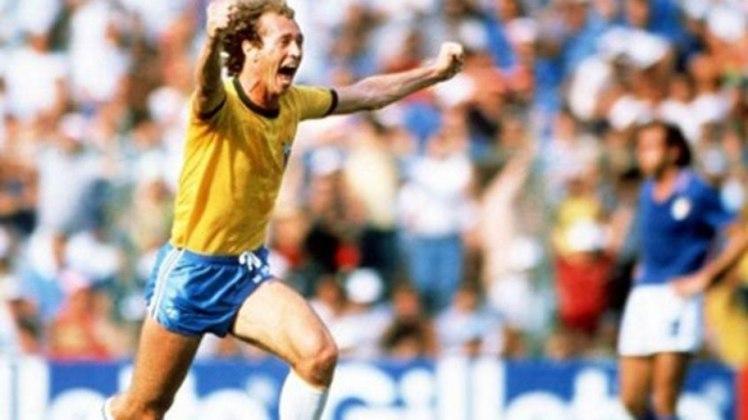 Paulo Roberto Falcão - O rei de Roma e maior ídolo do Internacional, conquistou diversos títulos em sua carreira, mas jamais levantou a taça da Copa do Mundo com a seleção brasileira.