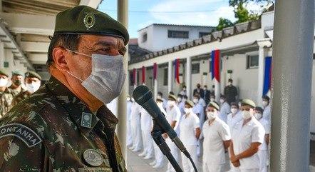 Paulo Sérgio substitui Edson Pujol no comando do Exército