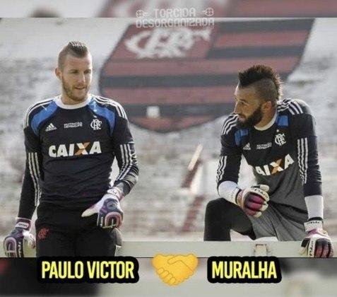 Paulo Victor é alvo de zoações após falhas na final da Copa do Brasil