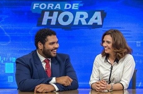 """Paulo Vieira e Renata Gaspar no """"Fora de Hora"""""""