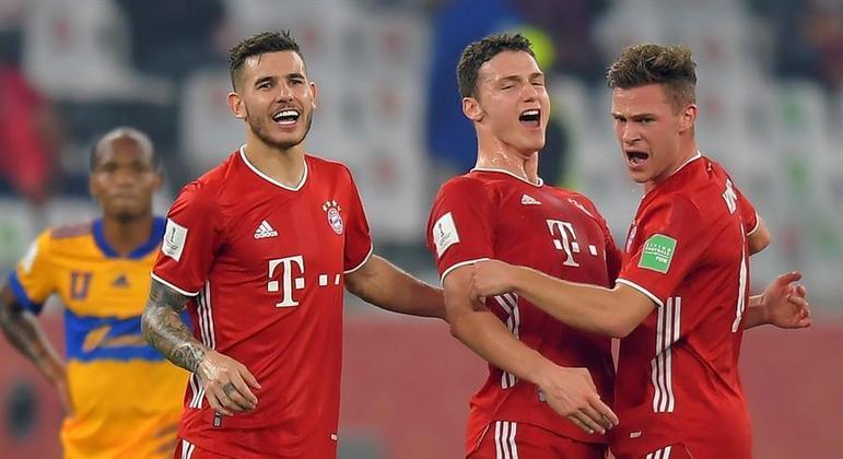Pavard fez o gol que deu o título mundial ao Bayern de Munique