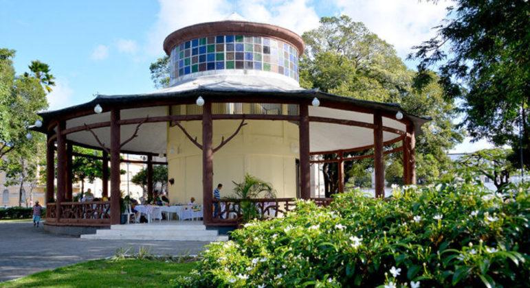 Pavilhão do Chá, Crochê