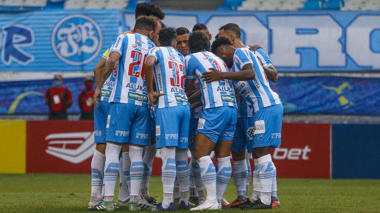 Paysandu: O Papão da Curuzu é o segundo colocado do grupo D da terceira divisão do futebol nacional. Uma vitória contra o Ypiranga, no próximo sábado, já garante o Paysandu na segunda divisão. O Papão também é conhecido por ser um dos times brasileiros a vencer o Boca na Bombonera. O clube foi rebaixado da B para C no ano de 2018, depois da goleada sofrida para o Atlético-GO.