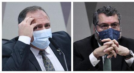 Pazuello e Araújo já foram ouvidos na CPI da Covid