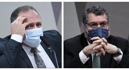 Pazuello e Araújo estão na lista de investigados