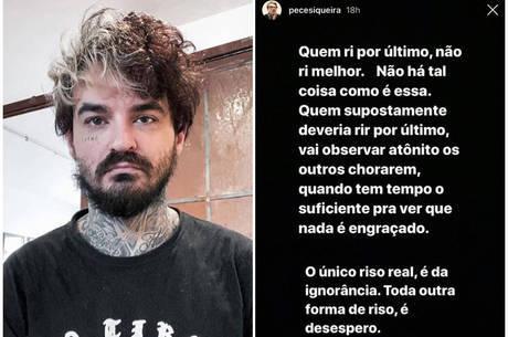PC Siqueira publica mensagem misteriosa