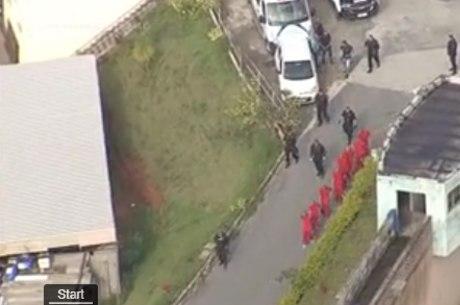 Polícia Militar montou grande aparato