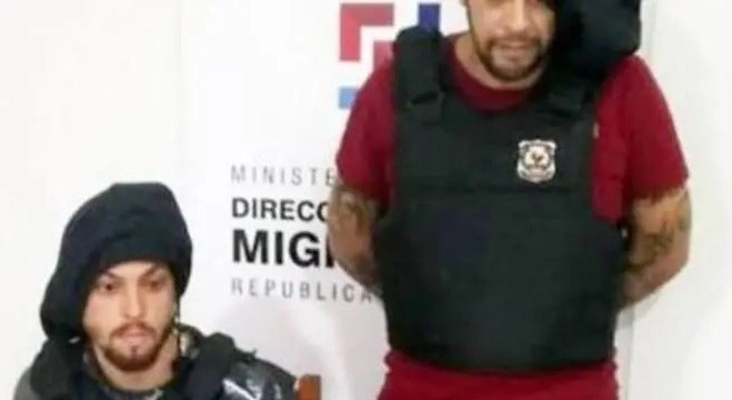 Autoridades entregaram os presos Oziel Rizzo  e Carlos Henrique, integrantes do PCC
