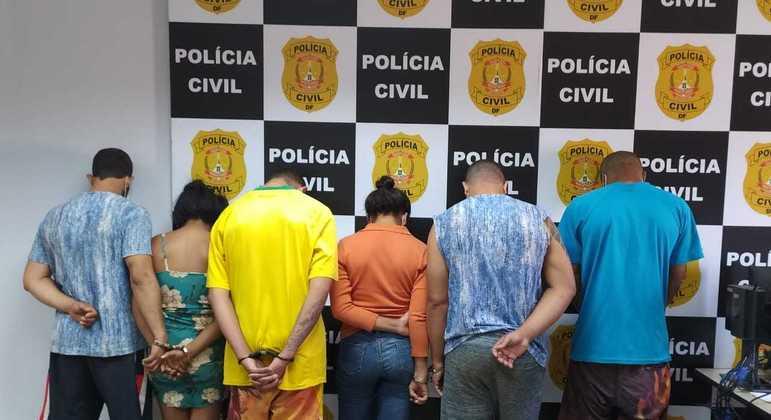 PCDF investiga crimes de extorsão e grilagem de terras. Operação Tríade prendeu seis pessoas