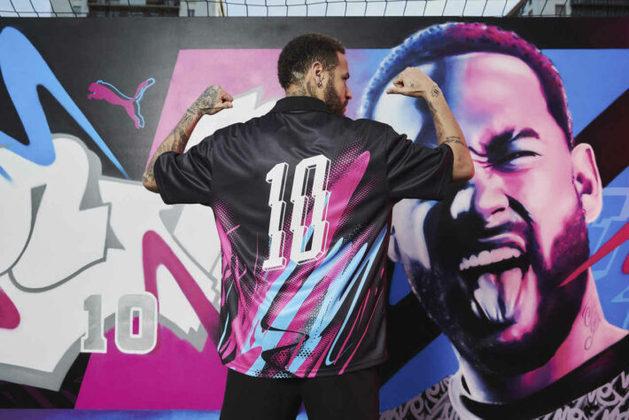 Peças da coleção Neymar Jr. Creativity