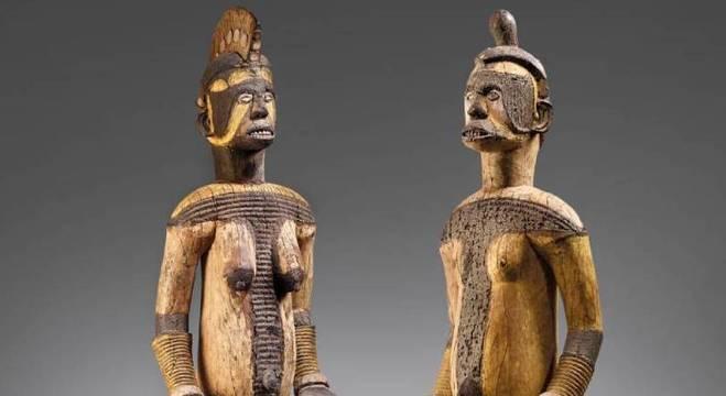 Esculturas estão avaliadas em U$ 280 mil (aproximadamente R$ 1,5 milhão)