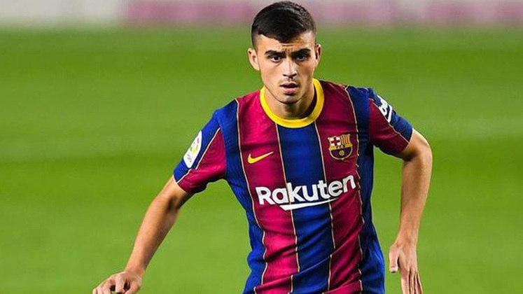 Pedri - 18 anos - Meia - Clube: Barcelona - Contrato até: 30/06/2022