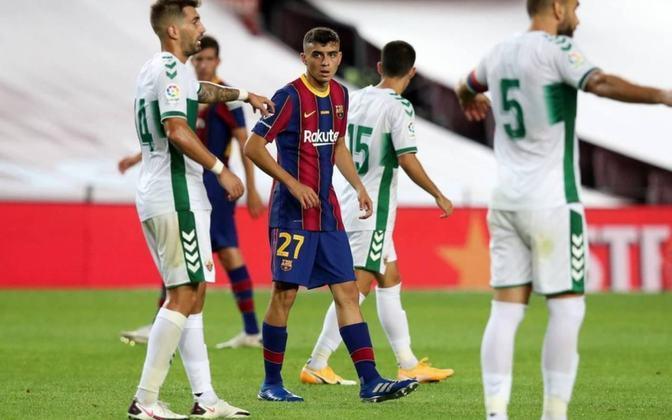 Pedri - 18 anos: O jovem que chegou ao Barcelona nesta temporada é um dos destaques do time de Ronald Koeman e vem ganhando espaço no time catalão.