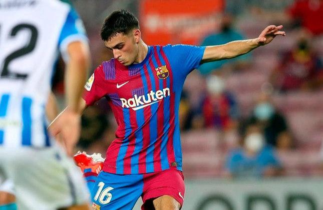 Pedri: Barcelona - 18 anos - meio-campista
