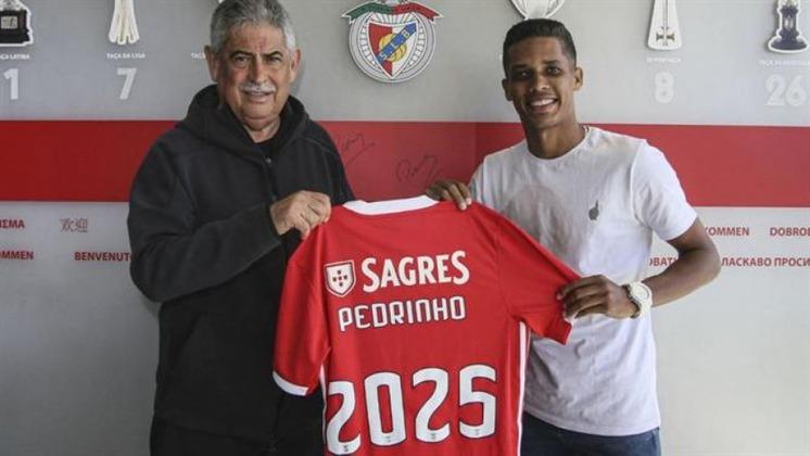 Pedrinho - Benfica (R$ 105 milhões) - Em março de 2020, o Corinthians confirmou a venda de Pedrinho ao Benfica, de Portugal. O Timão ainda pode receber bônus de 2 milhões de euros (cerca de R$ 10 milhões) caso Pedrinho, atualmente com 22 anos, atinja metas estipuladas em contrato no time de Jorge Jesus