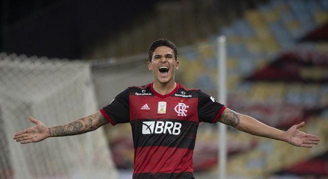 Pedro, disparado o melhor atacante no futebol brasileiro. Tinha de estar na seleção