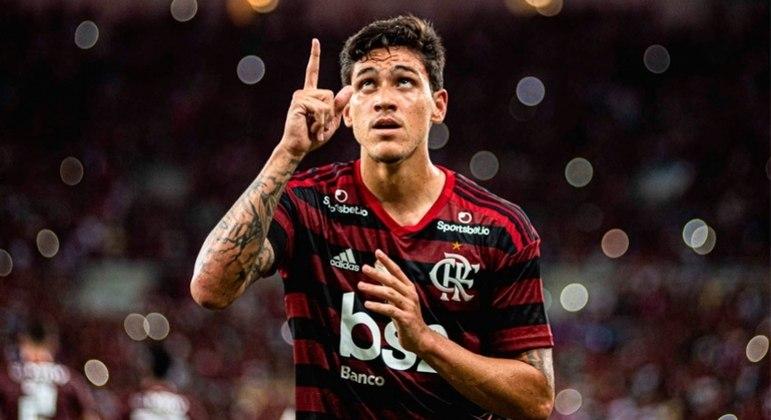 O Flamengo pagou R$ 90 milhões por Pedro. E promete não liberá-lo de 'jeito algum'