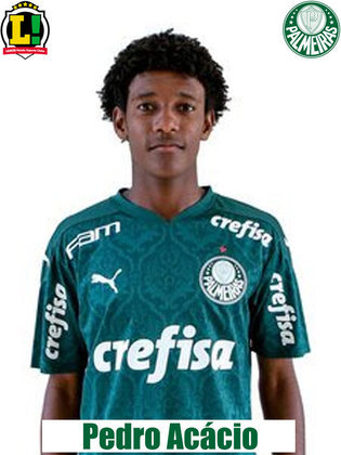 Pedro Acácio: 5,5 - Entrou aos 26 minutos do segundo tempo e até tentou ser participativo, com passes e perseguições na defesa, mas não foi o suficiente para mudar o panorama de uma partida ruim do Palmeiras.