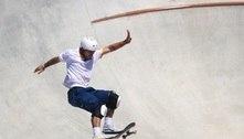 Pedro Barros voa e garante a medalha de prata no skate park