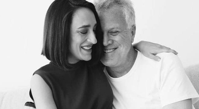 Maria Prata e Pedro Bial estão a espera da segunda filha
