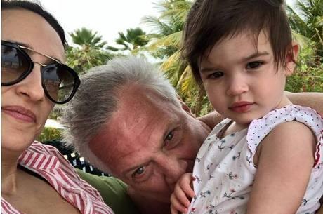 Jornalistas já são pais de Laura, de um ano