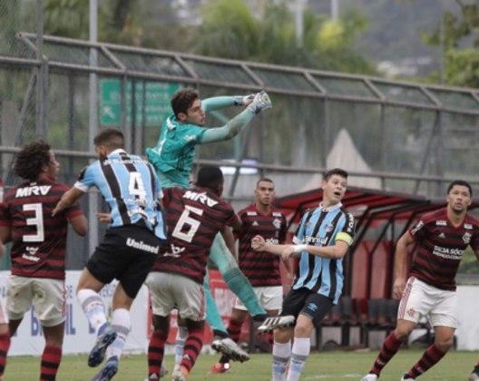 Pedro Caracoci (20 anos) - Relacionado em 2 jogos / Ainda não atuou no profissional