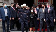 PedroCastillo toma posse como presidente do Peru