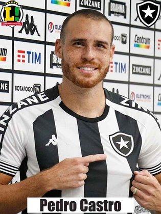 Pedro Castro - 5,5 - Voltou de lesão e não encontrou o ritmo. Não conseguiu criar oportunidades ao time.