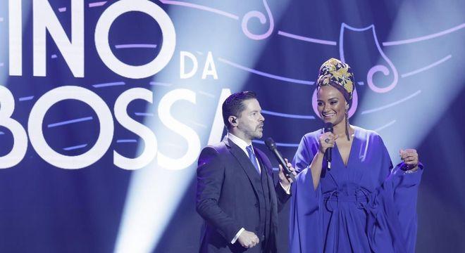 Pedro Camargo Mariano e Luciana Mello comandam a atração