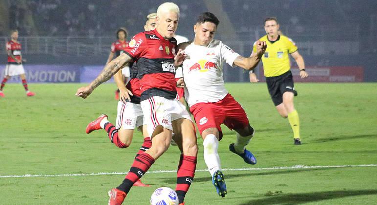 Pedro deixou o seu, mas perdeu outras chances no empate entre Flamengo e  Bragantino