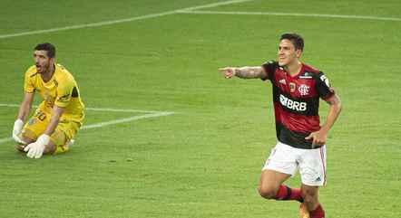 Pedro marcou 21 gols pelo Flamengo