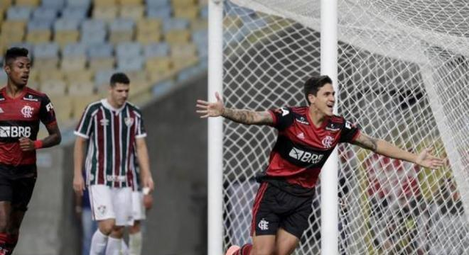 Pedro, ex-jogador do Fluminense, empatou para o Flamengo