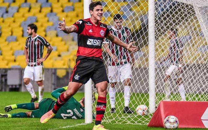 Pedro (Flamengo) - Segundo maior artilheiro do Flamengo na temporada, os 8 gols marcados por Pedro só ficam atrás dos 15 de Gabigol. Com passagens recentes pela seleção, o atacante pode voltar a vestir a camisa amarela ainda nessa próxima chamada de Tite